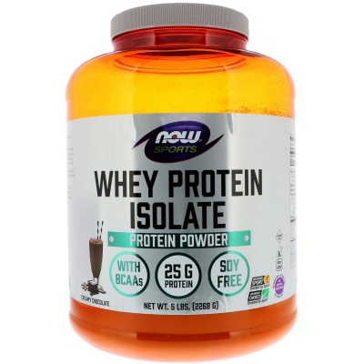 Протеин NOW Whey Isolate 2270 гр