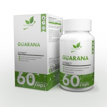 Энергетик NaturalSupp Guarana 60 капсул