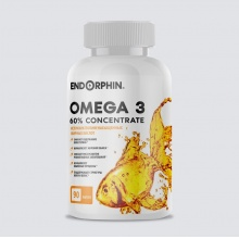 Антиоксидант ENDORPHIN Omega 3 1000 mg 90 капс